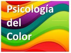 Psicologia del color.