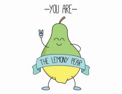 Learn with the lemony pear!