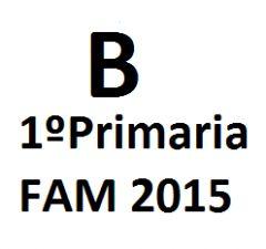 FAM 2015 1º Primaria B
