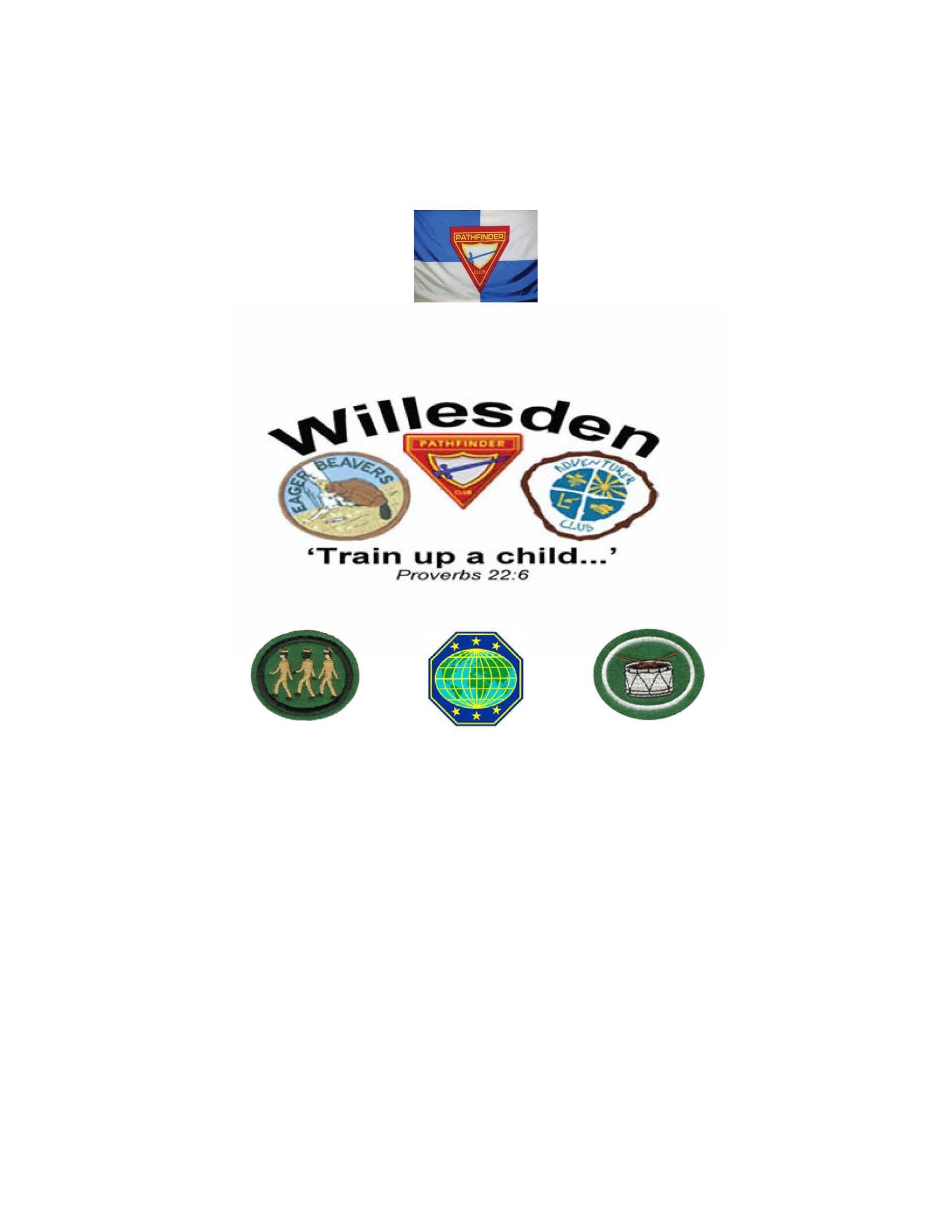 WILLESDEN PATHFINDER CLUB PBE