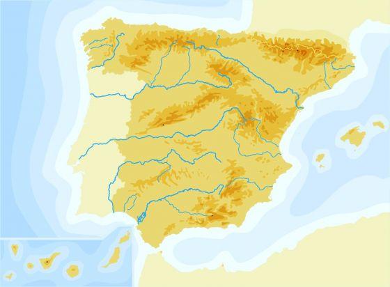 Mapa Interactivo Costas De Espana Geografia De Espana Costas
