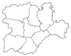 Mapa Castilla Y Leon En Blanco.Print Castilla Y Leon Lengua Daniela Alonso Rodriguez
