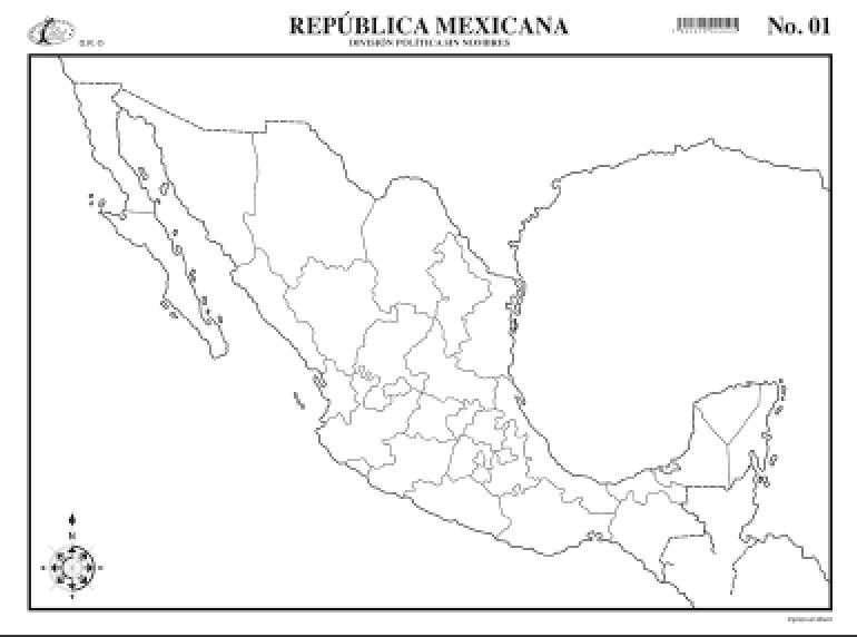 Mapa Interactivo Estados De La República Geografía 4º Educación