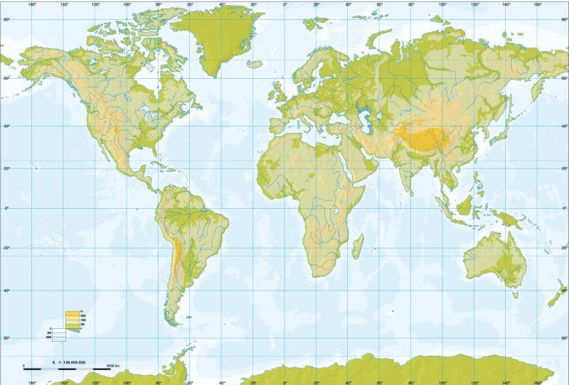 Mapa Interactivo Rius Llacs I Mars Del Mon 1º E S O