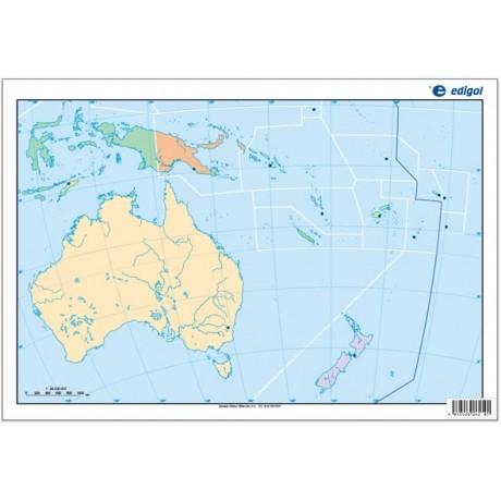 Map Quiz Mapa De Oceania D Examenprimero Mapafisico