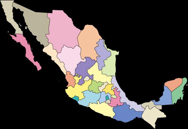 Map Quiz Mapa De La Republica Mexicana Geografía 3º Bachillerato