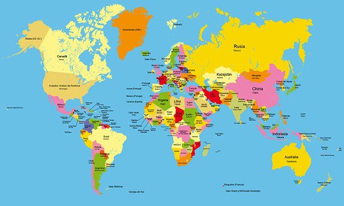 Map Quiz Geografia Geografia Cultura Paises