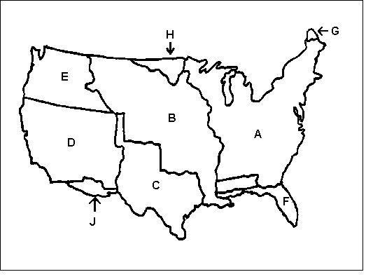 Map Quiz: U.S. Territorial Acquisitions (sociology - K13 - westward ...