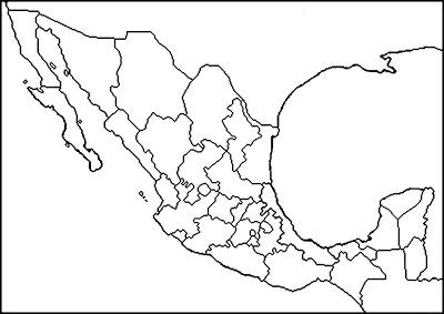 Mapa Interactivo Mapa De La República Mexicana Geografía