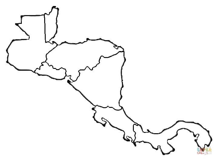 Map Quiz Mapa De Sentroamerica Tecnologia Mapa De