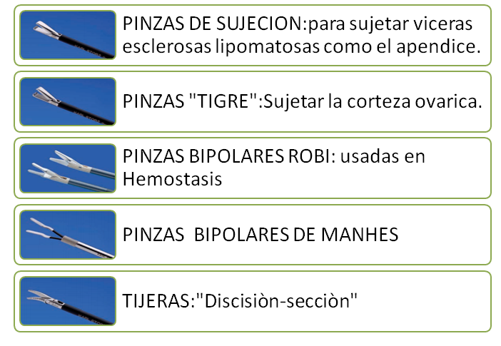 Vigilancia Subjetivo Sin personal  Presentación: Instrumental de laparoscopia (salud - instrumental cirugia -  laparoscopio - clasificación de instrumental)