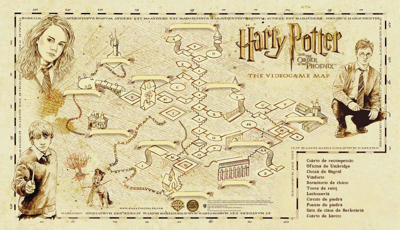 Map Quiz Mapa Hogwarts Harry Potter Hogwarts Mundo Magico