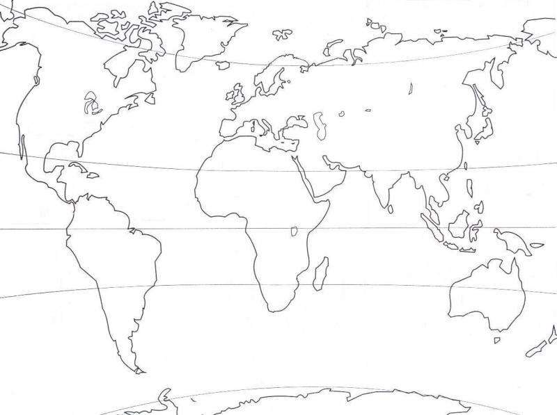 Carte Interactive Oceans Continents C1 Geographie Oceans Et Continents