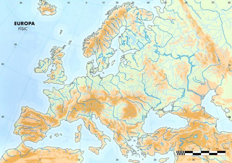 Mapa Fisic D Europa Rius.Imprimir Mapa Fisic Europa Rius I Mars Sociologia Jose