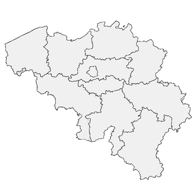 Map Quiz Provincies In Belgie Geography Provincies En
