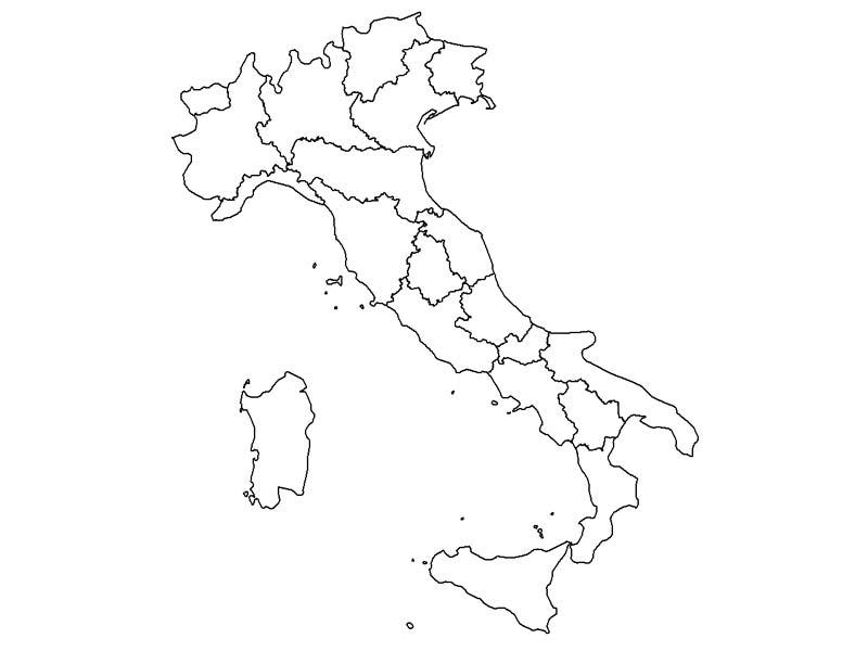 Mapa De Italia Mudo.Map Quiz Mapa De Italia 2 1º Bachillerato Cultura