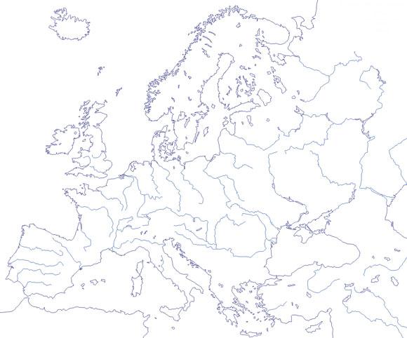 Mapa Rios De Europa.Map Quiz Rios De Europa 2 Otros Grado Superior Rios