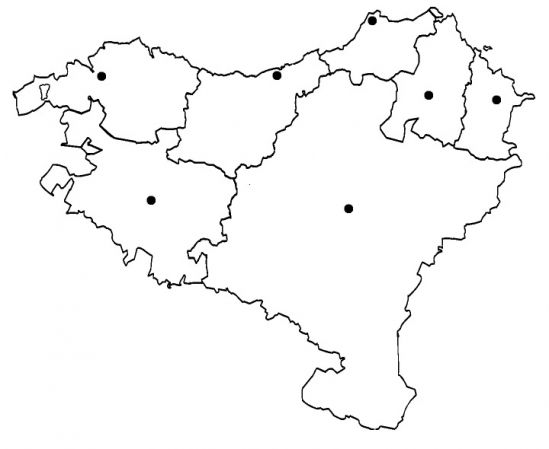 Euskal Herriko Mapa Politikoa.Map Quiz Euskal Herriko Mapa Politikoa Mapa Ingurunea Lh3