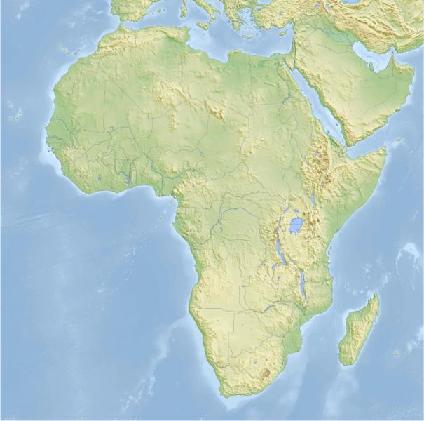 Mapa Mudo Fisico Africa Imprimir.Mapa Interactivo Mapa Fisico De Africa Geografia Africa