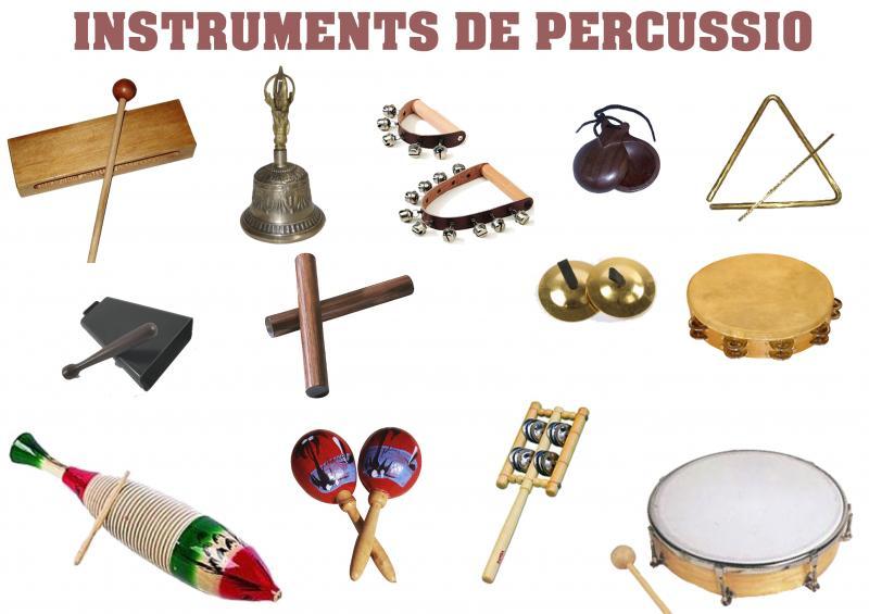 Map Quiz: XICOTETA PERCUSSIO (arte - 2º primaria - instruments ...