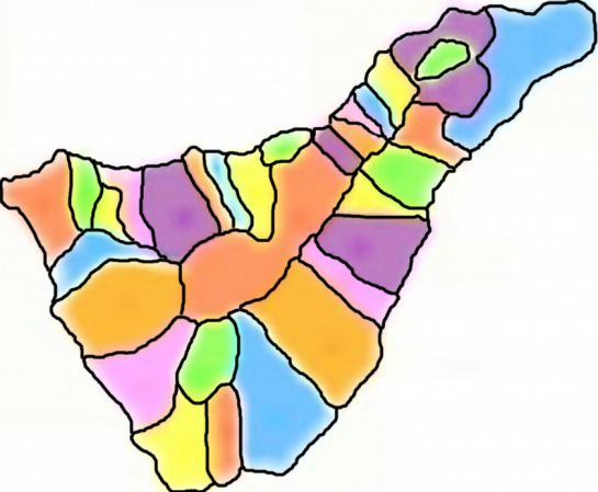Mapa Interactivo Municipios De Tenerife Municipios De Tenerife