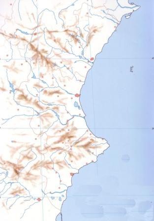 Mapa Mudo Comunidad Valenciana.Map Quiz Comunitat Valenciana Fisic Mapa De La Comuntat