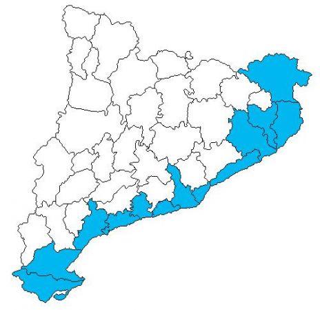Mapa Comarques De Catalunya Per Imprimir.Mapa Interactivo Comarques Catalunya Troba 02 Geografia
