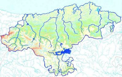 Mapa Interactivo Rios Y Embalses De Cantabria Cantabria Fisica