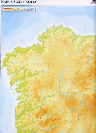 Mapa De Galicia Rios.Mapa Interactivo Os Rios De Galicia Rios De Galicia