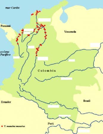 Interactive map rios de colombia rio amazonas yudy rodriguez haz click en thecheapjerseys Choice Image