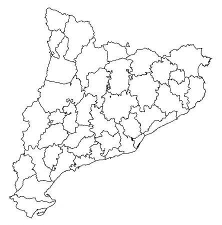 Map Quiz Les Comarques De Catalunya Catalunya Comarques De Catalunya Comarques Comarques