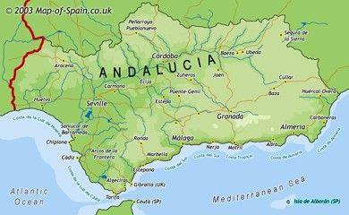 Mapa Rios De Andalucia.Mapa Interactivo Los Rios De Andalucia Para Primaria