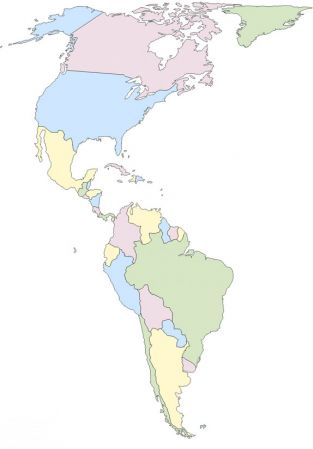 Mapa Interactivo America Politico.Mapa Interactivo Mapa Politico America Mapa Interactivo