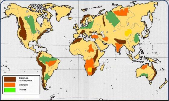 Map Quiz El Relleu Del Mon Situa Al Mapa Activitat Geografia