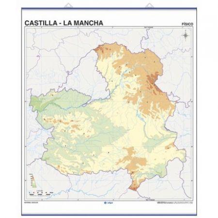 Map Quiz Rios De Castilla La Mancha Rios Castilla La Mancha