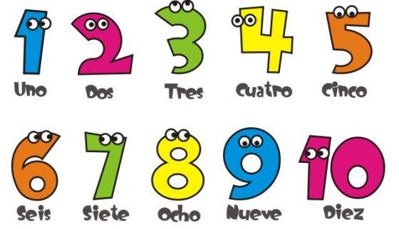 Los Numeros En Ingles Para Niños Aprende Facil