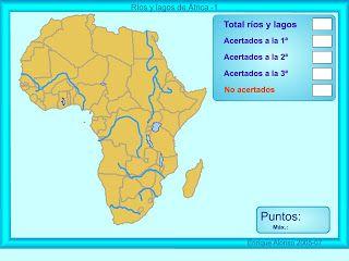 Mapa Fisico De Africa Interactivo.Mapa Interactivo Mares Rios E Lagos De Africa Mares Rios