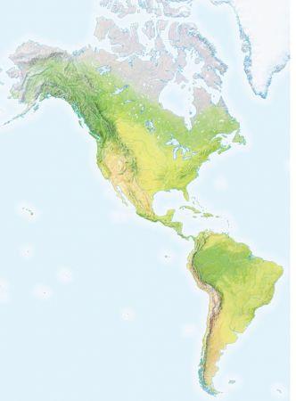 Print Map Quiz Ríos Y Accidentes Geográficos De América Accidentes Geográficos