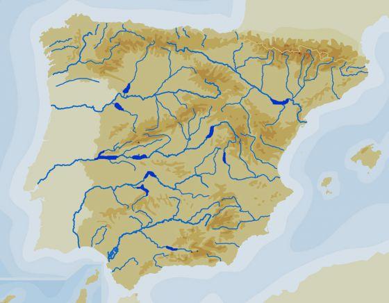 Mapa Interactivo Los Embalses De Espana Ii Conocimiento Del
