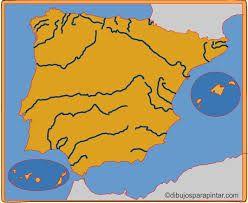 Mapa Interactivo Rios De Espana 4º Primaria Rios De Espana