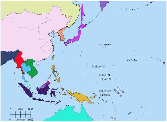 pacific battles map Print Map Quiz World War Ii Pacific Battles World Two War pacific battles map