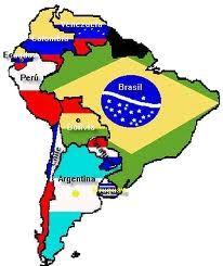 Print mapa sur America. mapa suramericano. eliana andrea rivera orti...