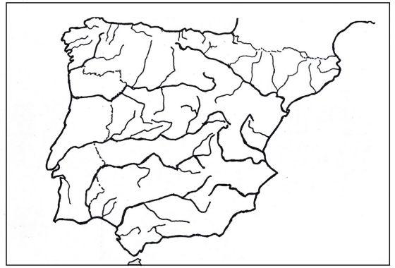 Map Quiz Mapa Rios De España Mapa Interactivo