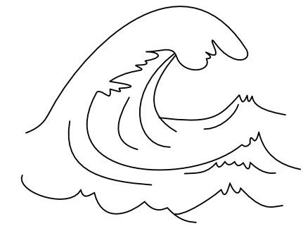 Dibujos De Olas De Mar Guatelinda