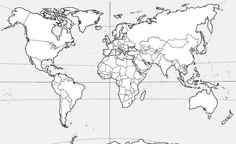 Mapa Interactivo Continentes y Océanos. geografía. Alex Machad...