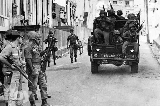 Resultado de imagen para intervención militar norteamericana REPUBLICA DOMINICNA