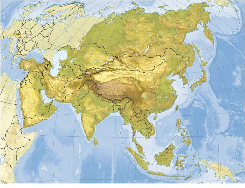 Map Quiz: MAPA DE ASIA (historia - geografía - 1º E.S.O. ... on map of asia with asia, map of east asia only, mapa politica asia, lanzhou on a political map of asia, map of asia and america, 1940s map of europe and asia, map od asia, map of asia 2013, full map of asia, map of asia countries, whole map of asia,