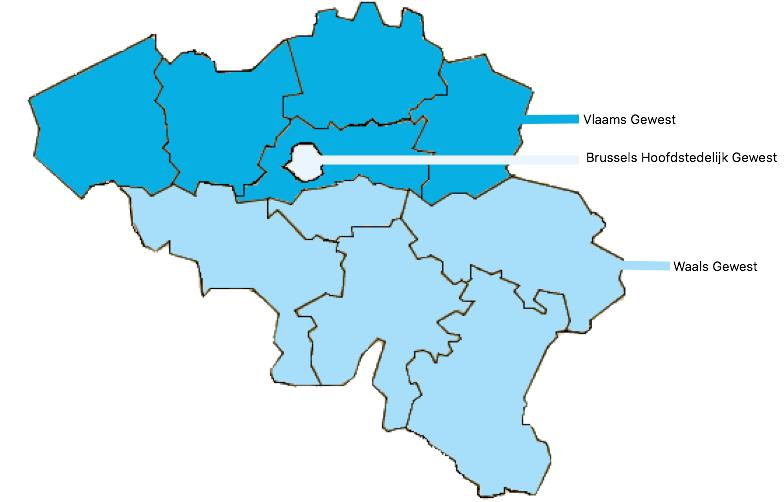 Slideshow: Gewesten van België (geography - belgië - gewesten ...
