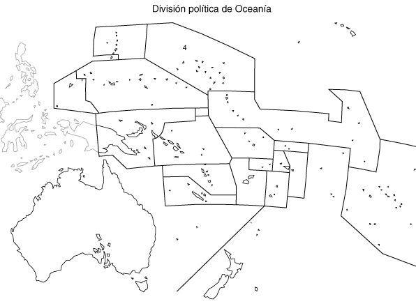 Mapa Mudo De Oceania Para Imprimir.Map Quiz Mapa Politico De Oceania Geografia 3º E S O