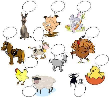 Mapa Interactivo Animales Biología Tercer Grado Preescolar